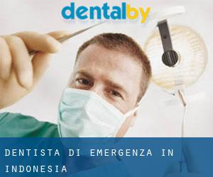 Dentista di emergenza in Indonesia